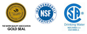 gold seal certified water treatment products at goild water group