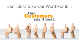Gold Water Group customers say we are the best